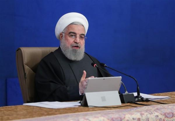 روحانی: توپ در زمین آمریکا است