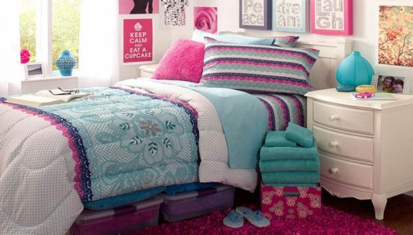 5 روش خلاقانه در طراحی دکوراسیون اتاق خواب دخترانه