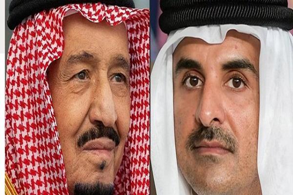 پادشاه عربستان برای امیر قطر دعوت نامه فرستاد