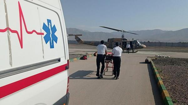 دومین امدادرسانی بالگرد اورژانس هوایی نیشابور به مادر باردار در ماه مبارک رمضان