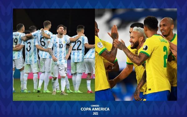 فینال مجذوب کننده کوپا آمریکا؛ حیثیتی مثل جدال آرژانتین و برزیل
