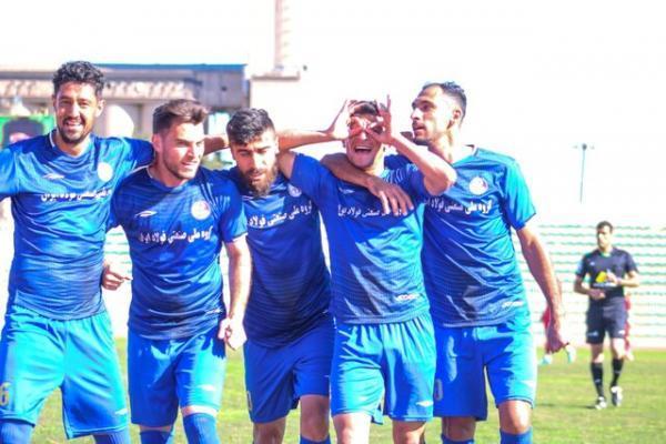 برد بی اثر استقلال خوزستان در لیگ یک فوتبال