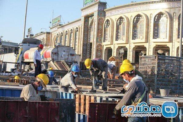 رشد 30 درصدی یاری ایرانی ها به توسعه و بازسازی حرم های عتبات