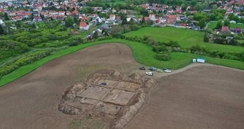 بقایای یک کلیسای تاریخی در آلمان کشف شد