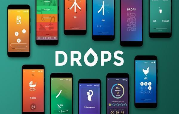 معرفی اپلیکیشن Drops؛ یادگیری زبان با بازی و تفریح